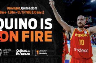 Quino Colom Valencia Basket