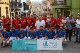 Relleu campió Diputació Alacant Palma 2019
