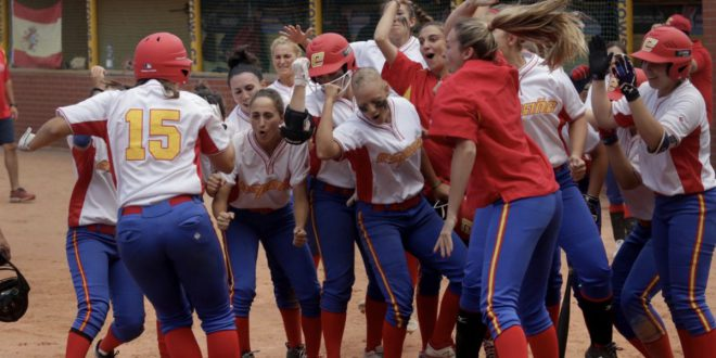 selección española femenina sófbol