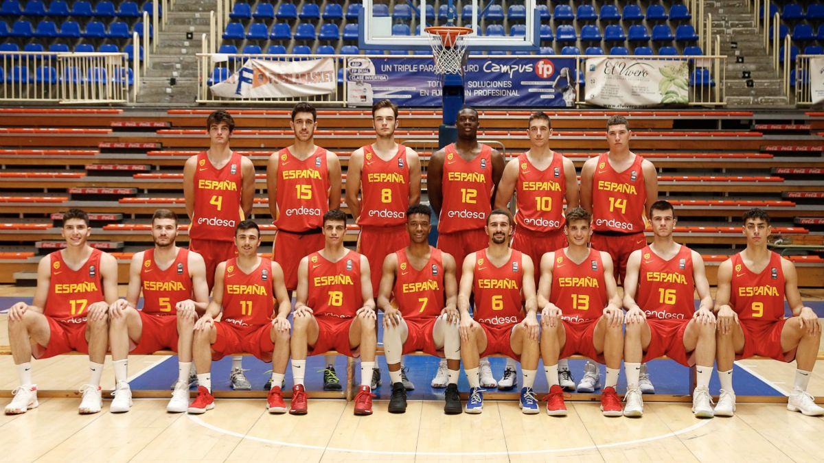 seleccion española Europeo Sub-20 Israel