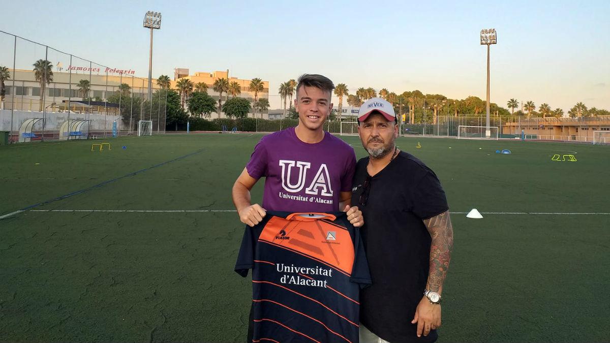 Álvaro Ivorra CD Universidad de Alicante