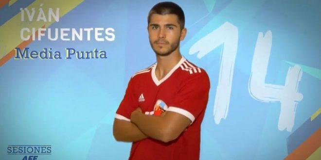 Iván Cifuentes, jugador AFE