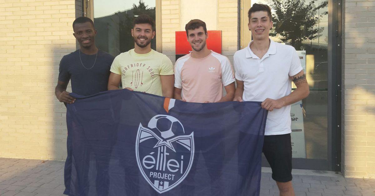 Jumu, Adrián Gran, Ricky, Gabri, Elitei Project