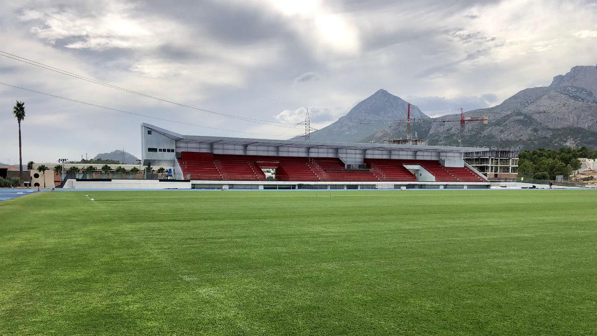 Nuevo estadio CF La Nucía