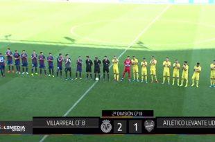 Villarreal B-Atlético Levante video
