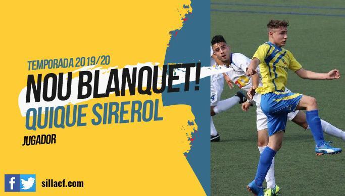 Quique Sirerol Silla CF