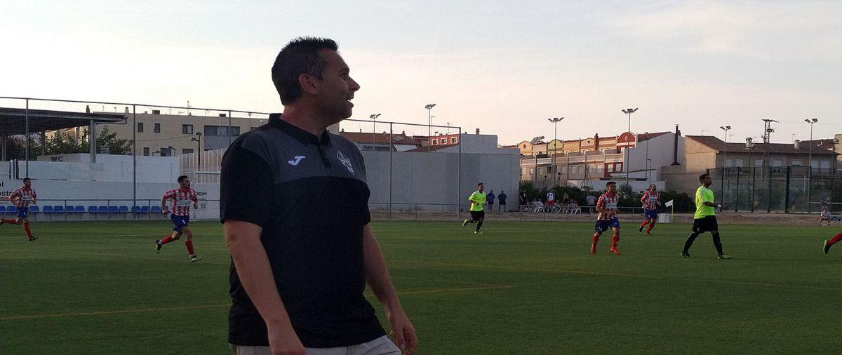 Richi Gisbert, entrenador UE L´Alcúdia