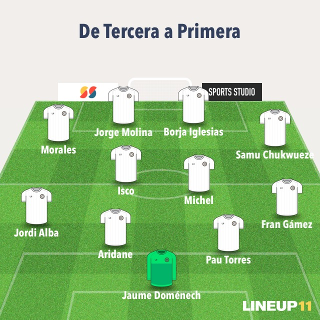 Jugadores Tercera-Primera