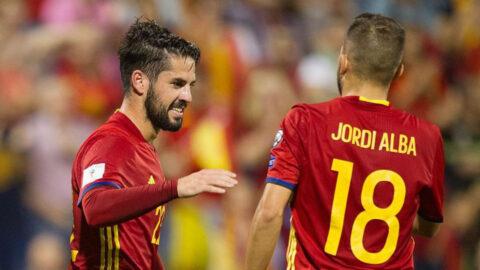 Jordi Alba Isco España