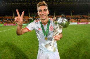 Ferran Torres campeón Europeo sub 19
