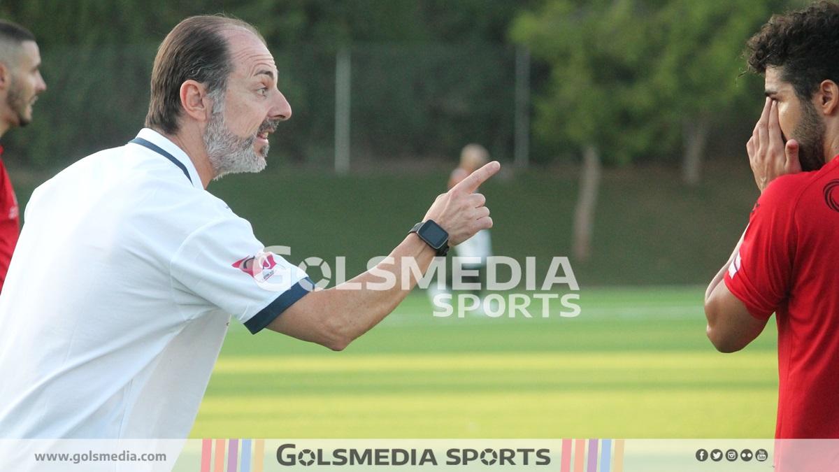 José Antonio Gomis, entrenador del Crevillente Deportivo