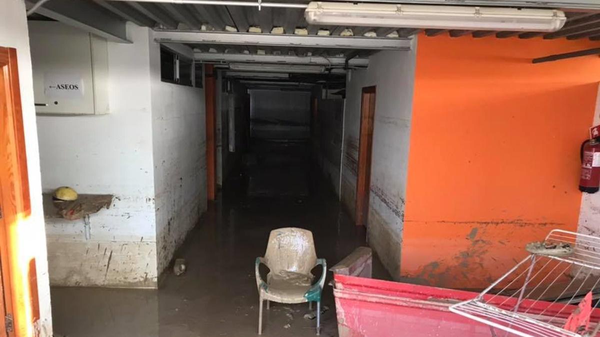 Campo Luis Rocamora Benferri inundado