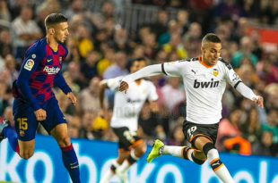 Rodrigo contra el FC Barcelona