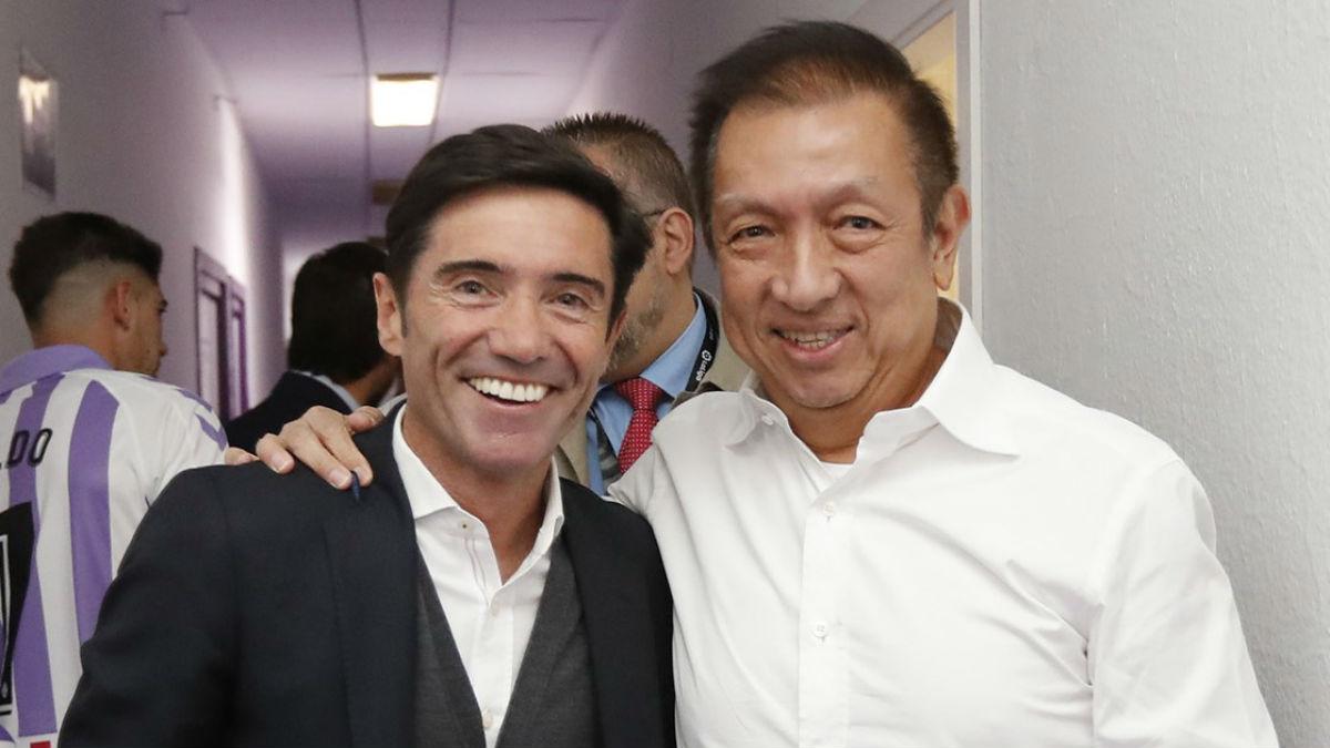 Peter Lim y Marcelino