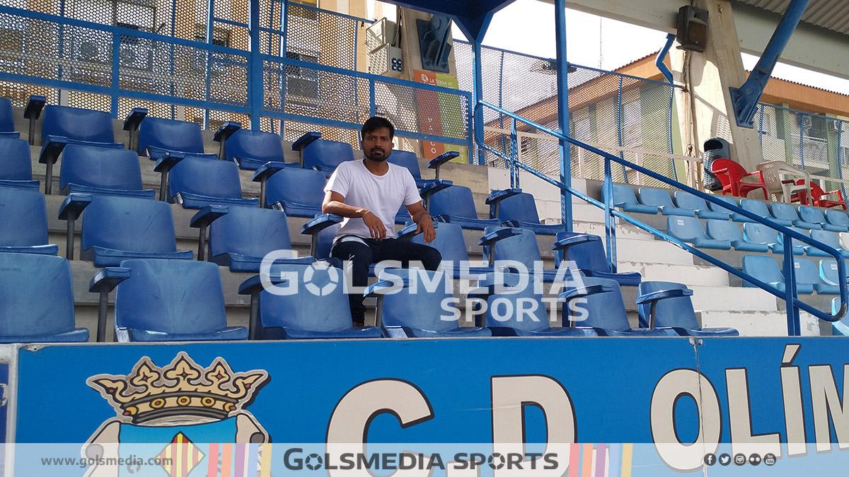 Anuj Gupta, CD Olímpic Xàtiva