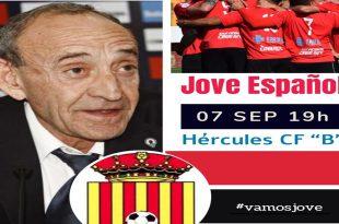 Cartel Pepe Alcazar FC Jove Español