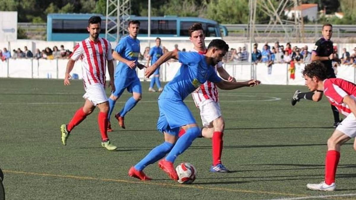 Borja Martínez CD Pedreguer