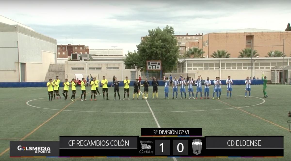 CF Recambios Colón - CD Eldense