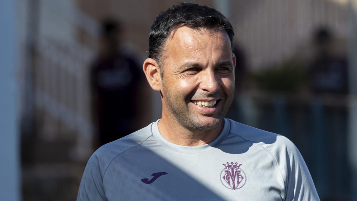 Javi Calleja-técnico del Villarreal CF
