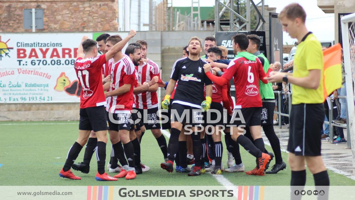 UD Puçol celebracion gol