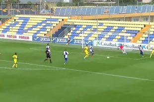 Vídeo Villarreal B-Ebro