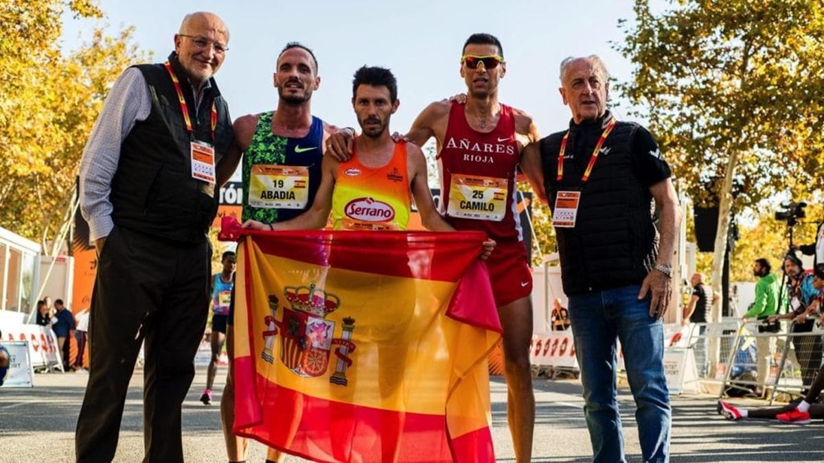 tres mejores atletas españoles