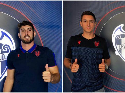 Eliseo y Pablo Martinez Levante UD