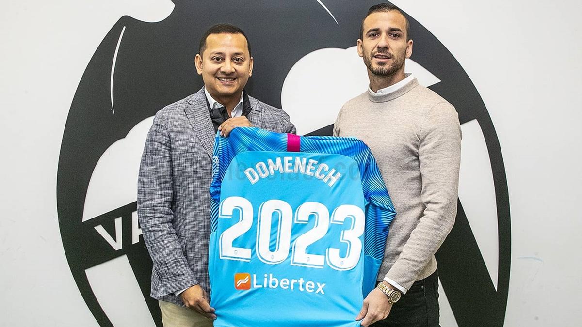 Jaume Doménech Valencia CF renovacion