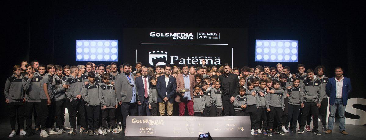 Paterna CF Premios Golsmedia Sports 2019