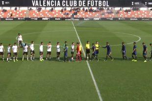 Vídeo Valencia Mestalla-Atlético Levante