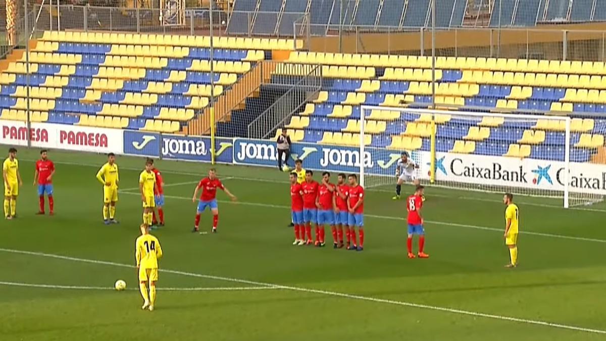 Vídeo Villarreal C-Saguntino