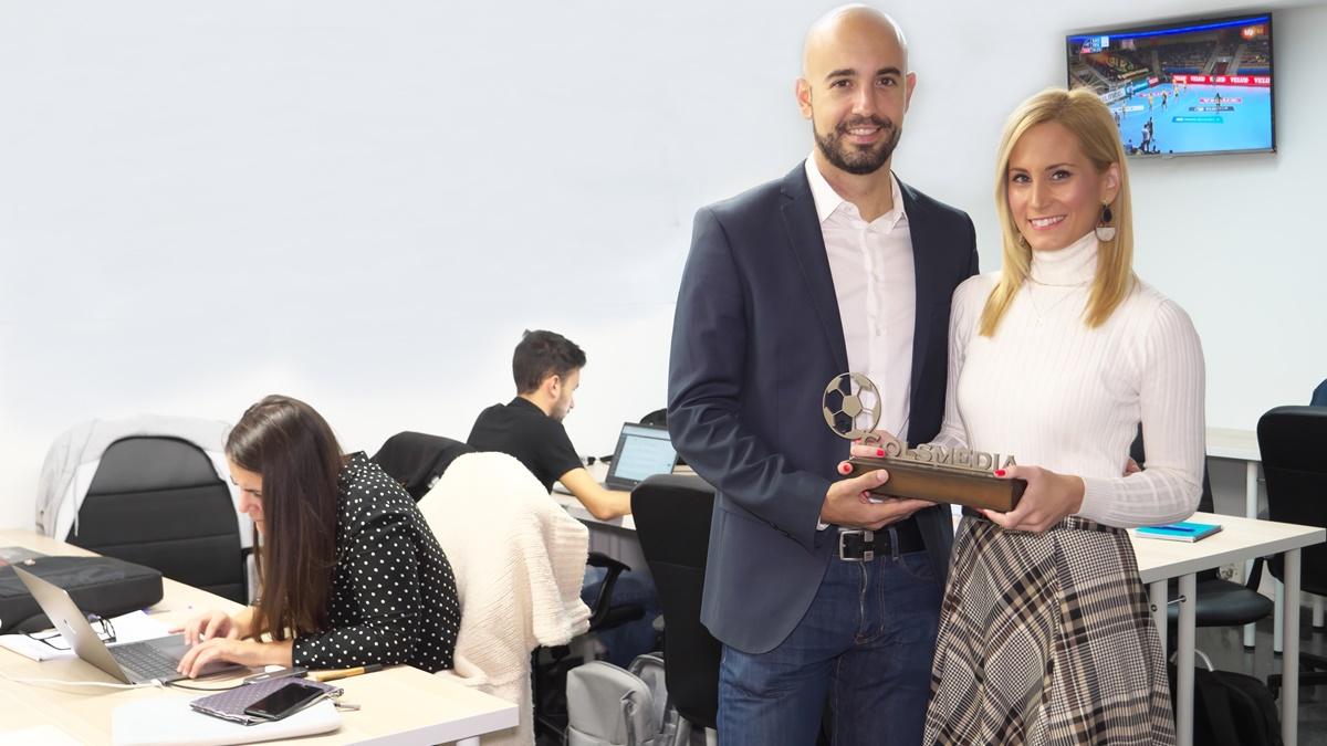 presentadores gala premios golsmedia sports 2019