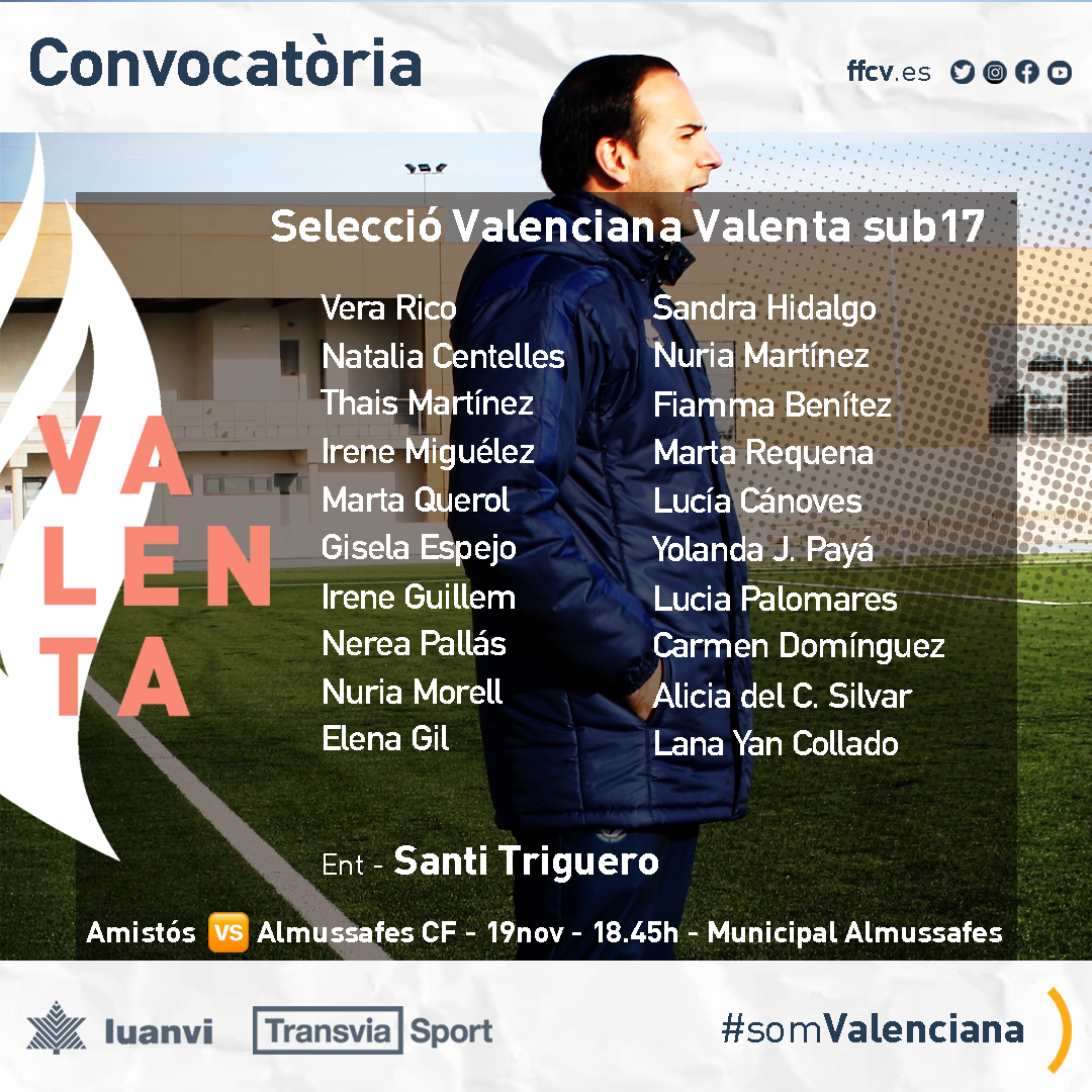 Selección Femenina Valenciana Sub17