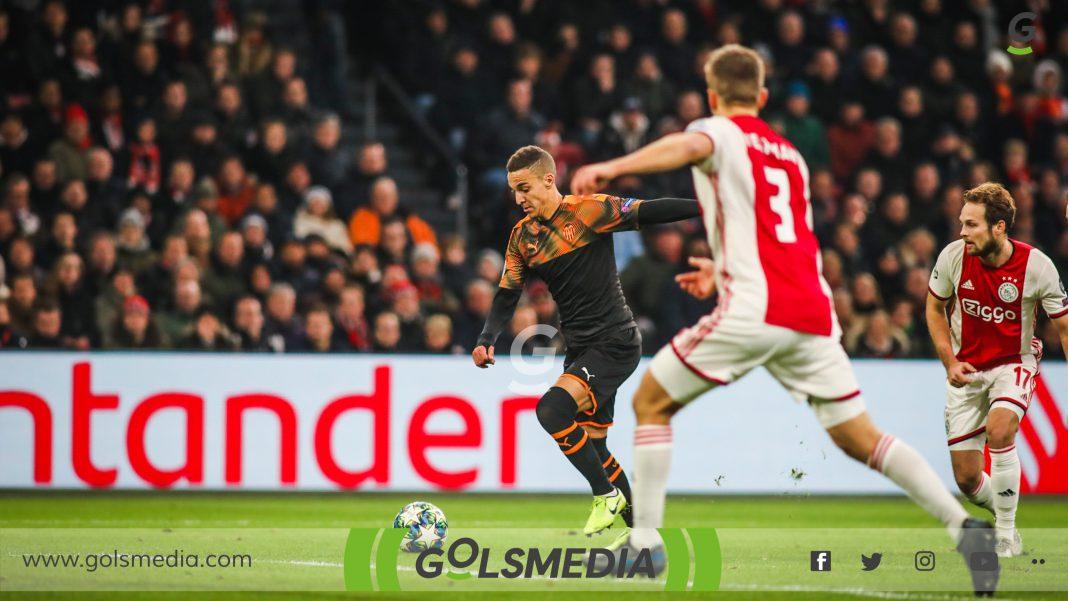 Ajax-Valencia Rodrigo