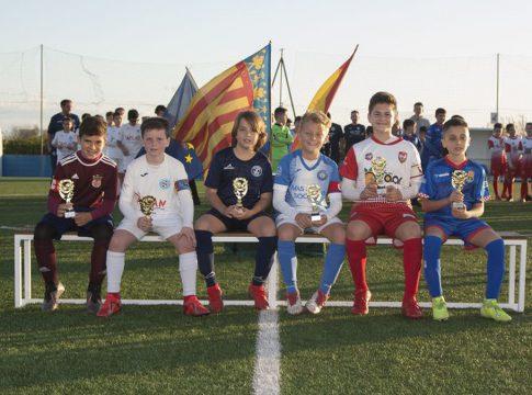 Equipos clasificados para la siguiente ronda de la X Copa Federación de Fútbol Base. Imagen: FFCV