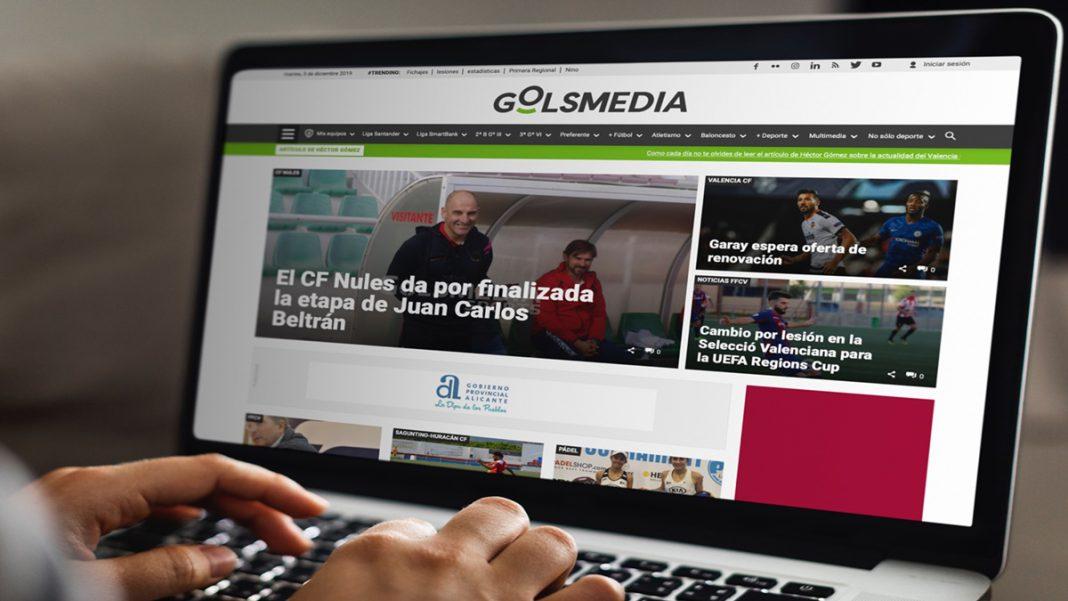 Nueva web Golsmedia