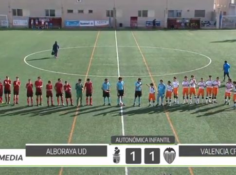 Vídeo Alboraya-Valencia infantil autonomico