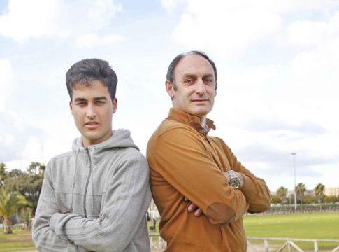 Antonio Poyatos e hijo