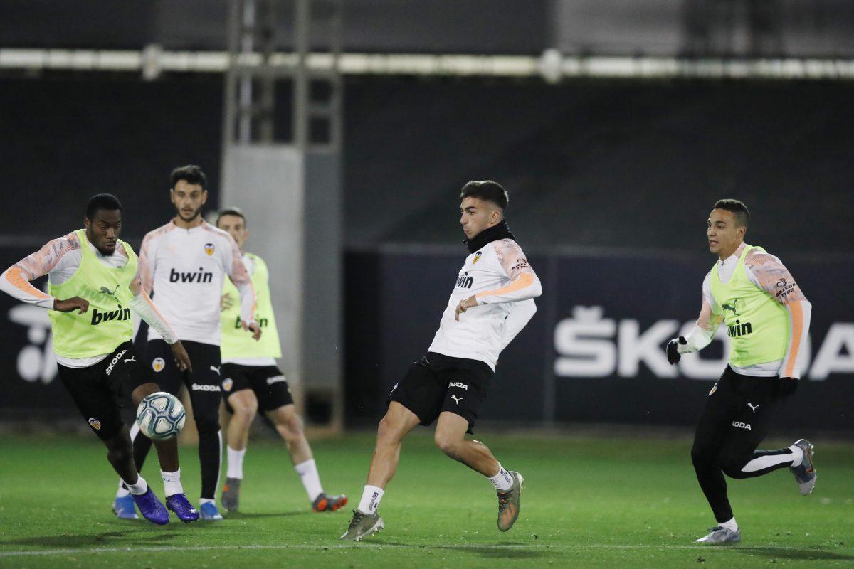 Ferran Valencia CF entrenamiento