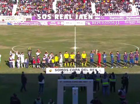 Vídeo Jaen-Levante Copa del Rey