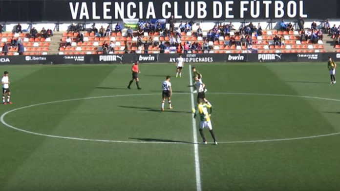 Valencia Mestalla-Sabadell video