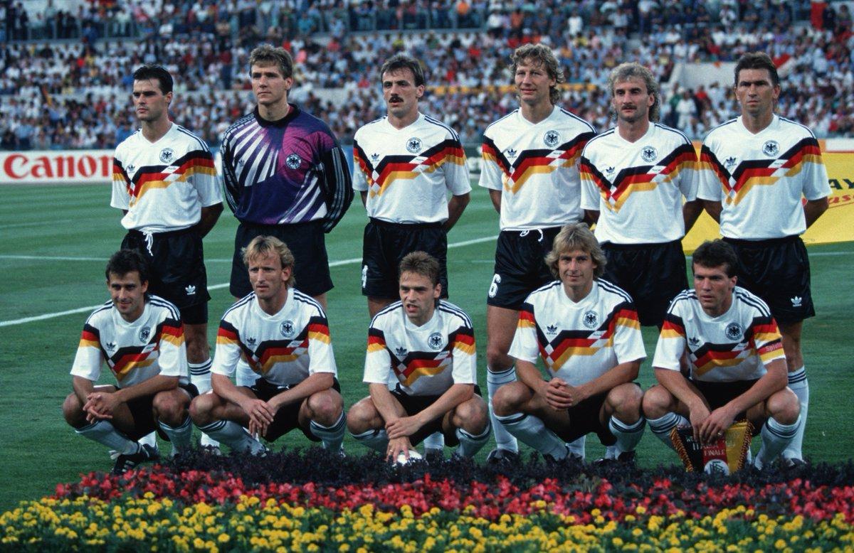 Camiseta de futbol Alemania 90