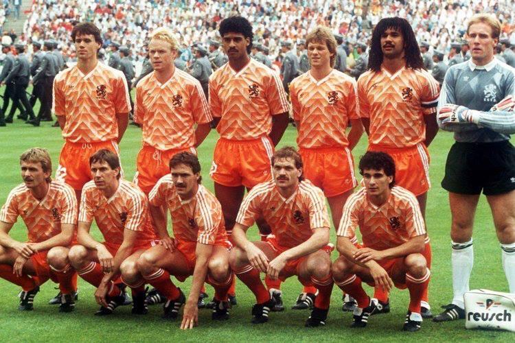 Camiseta de futbol Holanda 90