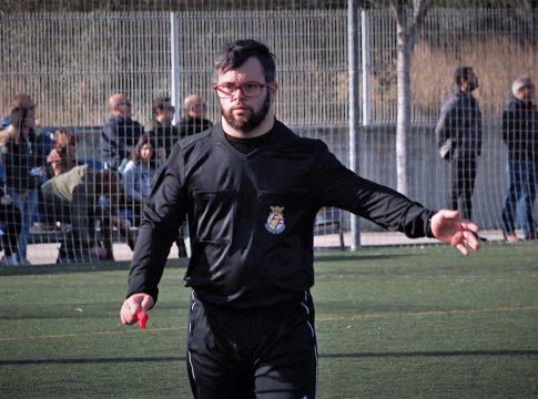 Dani Alcaraz arbitro sindrome down