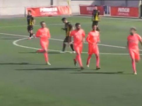 Gol Alcoyano Juanma Acevedo