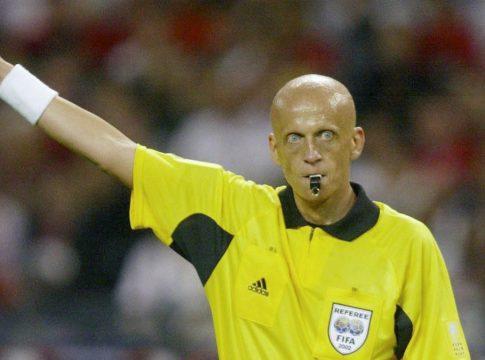 Pierluigi Collina árbitros de fútbol