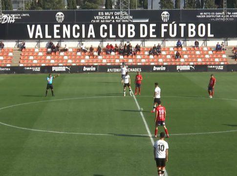 Vídeo goles mestalla-olot