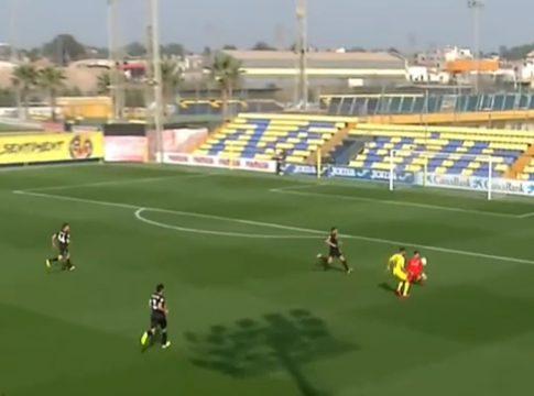 Video Villarreal B-Andorra
