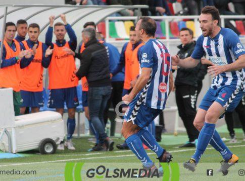 Celebracion gol Alcoyano