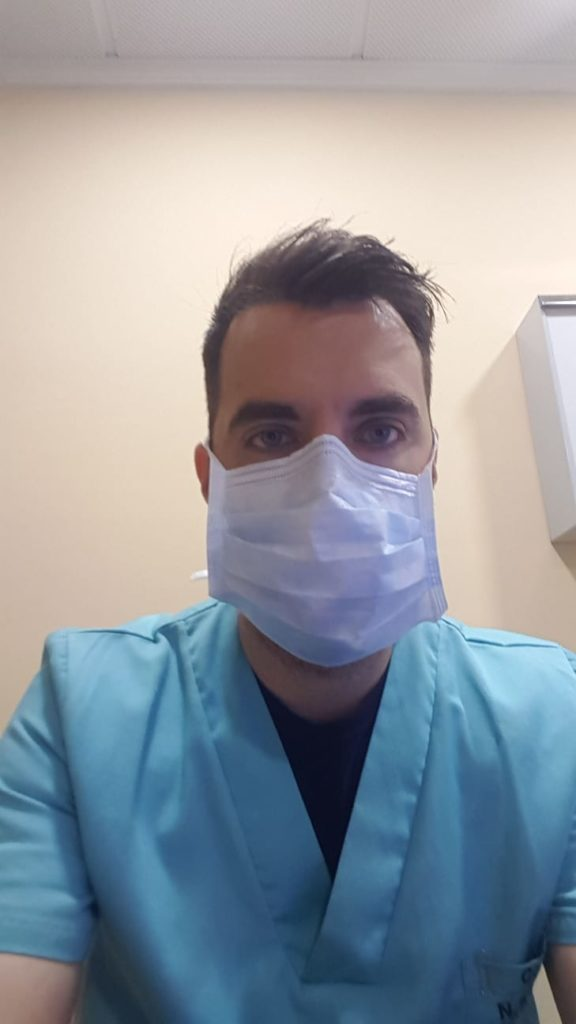 Dani Yuste medico arbitro